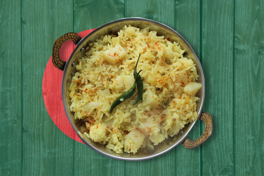 Bhuna Khichuri (Bangladeshi Vegetable Rice)